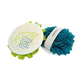 EcoTools, EcoPouf Dual Cleansing Pad, 1 Pad