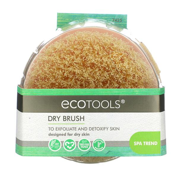 EcoTools, щетка для сухого массажа, 1 штука