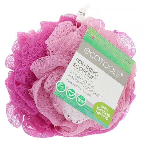 EcoTools, Polishing EcoPouf, 1 мочалка