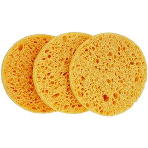 Эко Тулс, Facial Mask Sponges, 3 Sponges отзывы покупателей