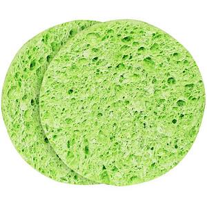 Эко Тулс, Mask Remover Sponges, 2 Sponges отзывы покупателей