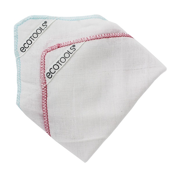 EcoTools, Muslin Polishing Cloths, 2 Cloths (Discontinued Item)