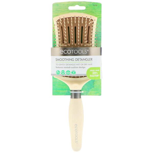 EcoTools, Smoothing Detangler Brush, 1 Brush