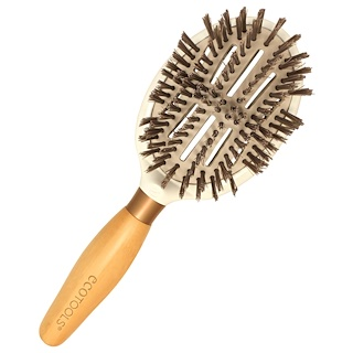 EcoTools, Sleek + Shine Finisher Brush, 1 Brush