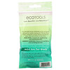 EcoTools, Infused Facial Sponges, Rose Petal + Bamboo Charcoal , 2 Sponges