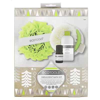 EcoTools Indulgent Bath Kit, Limited Edition, 4 Piece Kit