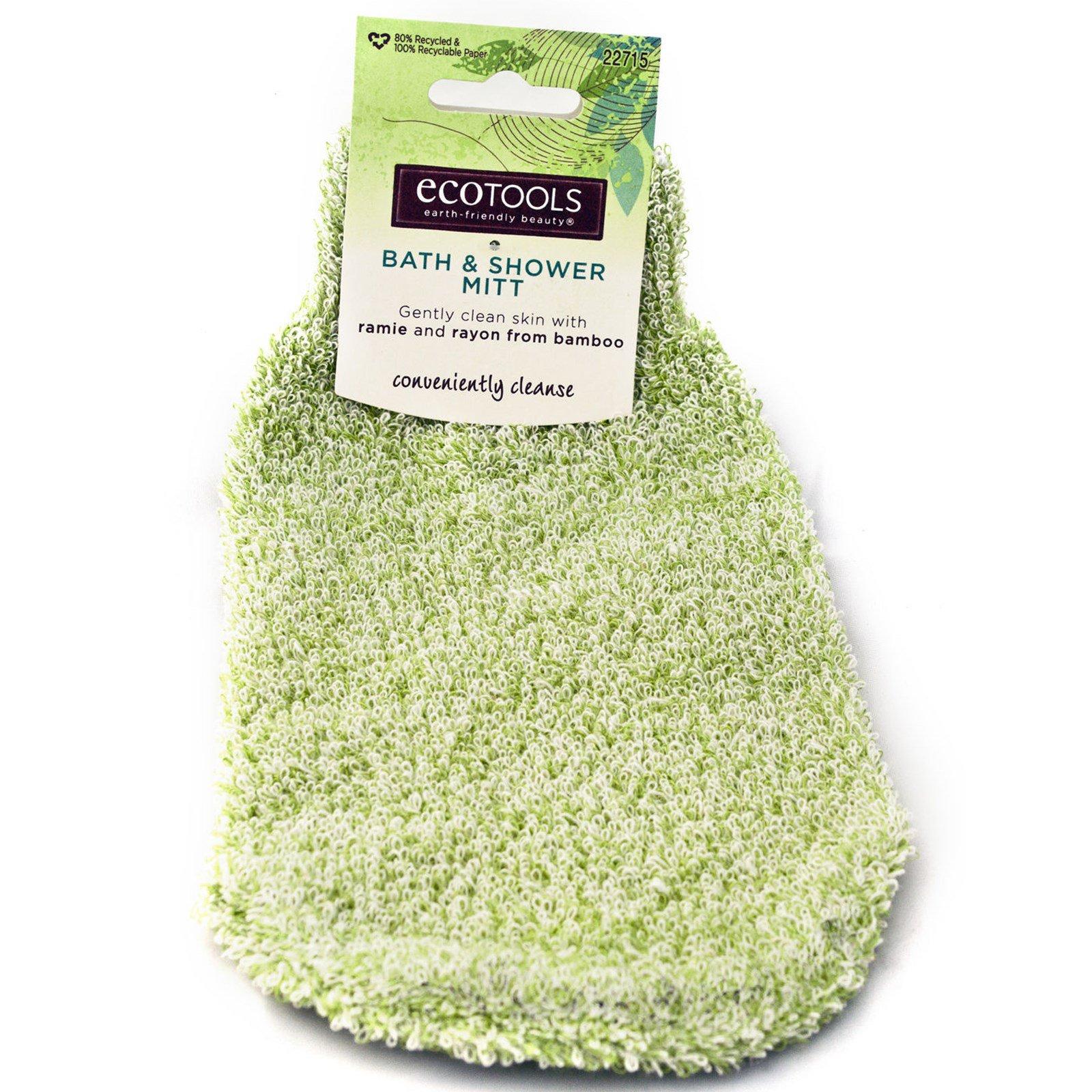 EcoTools, Рукавица для ванны и душа, 1 шт.