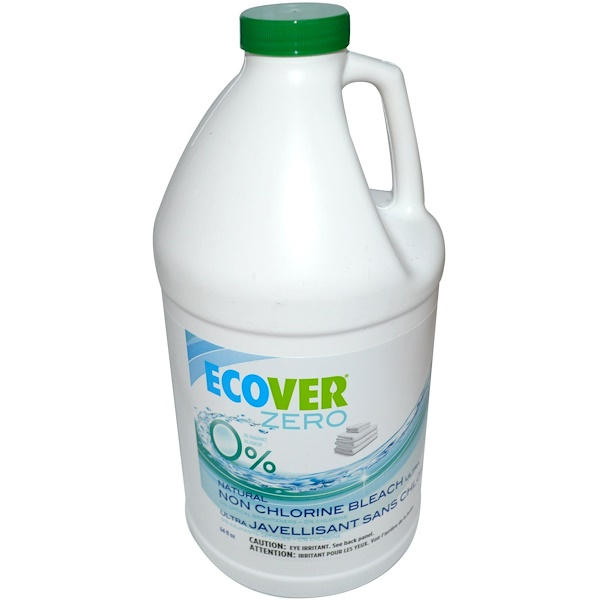 Ecover, Zero, Natural Non Chlorine Bleach Ultra, 64 fl oz (1.89 L) (Discontinued Item)