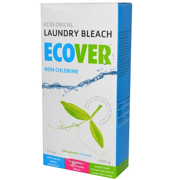 Ecover, Ecological Laundry Bleach, Non Chlorine, 14 oz (400 g) (Discontinued Item)