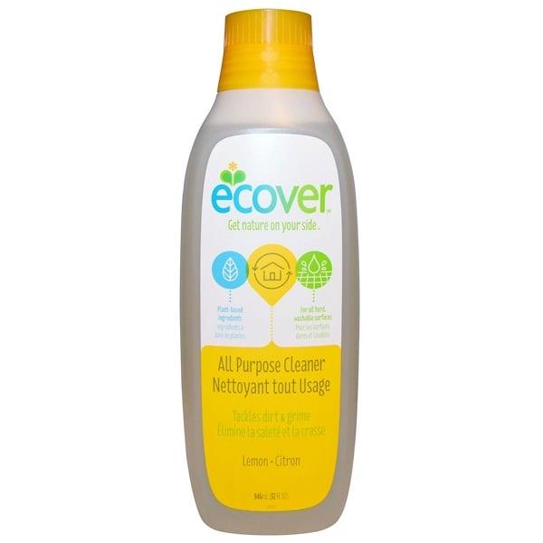 Ecover, 万能クリーナー, レモン, 32液量オンス(946 ml)