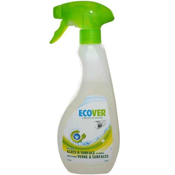 Ecover, Натуральное очищающее средство для стекол и других поверхностей, 16 жидких унций  (473 мл) (Discontinued Item)