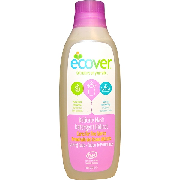 Ecover, Delicate Wash, Spring Tulip, 32 fl oz (946 ml) (Discontinued Item)