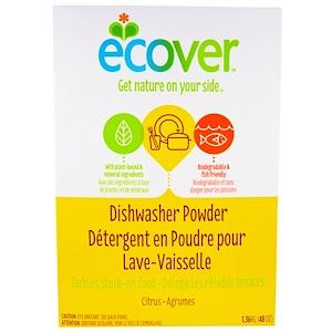 Эковер, Dishwasher Powder, Citrus Scent, 48 oz (1.36 kg) отзывы покупателей