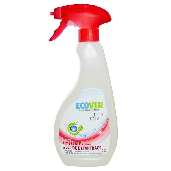 Ecover, Натуральное удаление накипи 16 жидких унции (473 мл) (Discontinued Item)