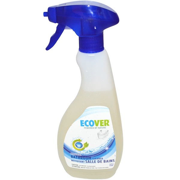 Ecover, Natural Bathroom Cleaner, 16 fl oz (473 ml) (Discontinued Item)