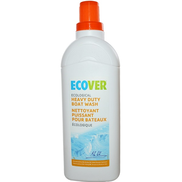 Ecover, Ecological Heavy Duty Boat Wash, 33.8 fl oz (1 L) (Discontinued Item)