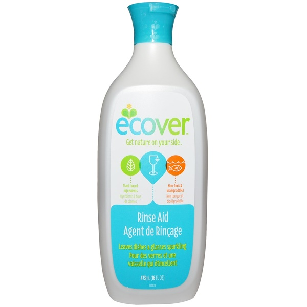 Ecover, Rinse Aid, 16 fl oz (473 ml) (Discontinued Item)