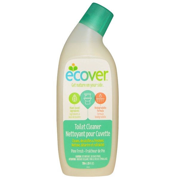 Ecover, Toilet Cleaner, Pine Fresh, 25 fl oz (739 ml) (Discontinued Item)
