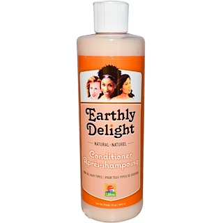 Earthly Delight, Natural Conditioner, For all Hair Types, 16 oz (454 ml)