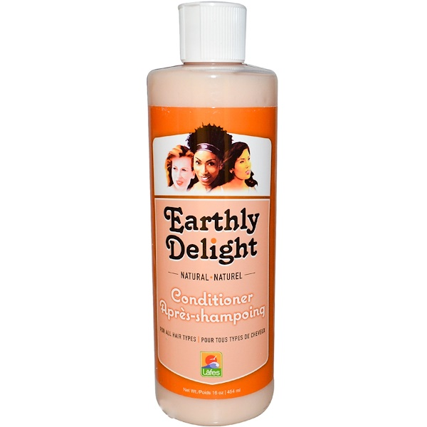 Earthly Delight, Natural Conditioner, For all Hair Types, 16 oz (454 ml) (Discontinued Item)