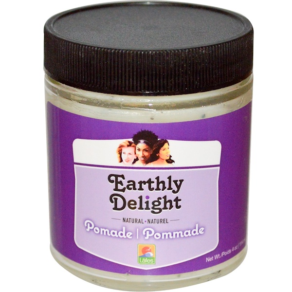 Earthly Delight, Natural Pomade, 4 oz (114 ml) (Discontinued Item)