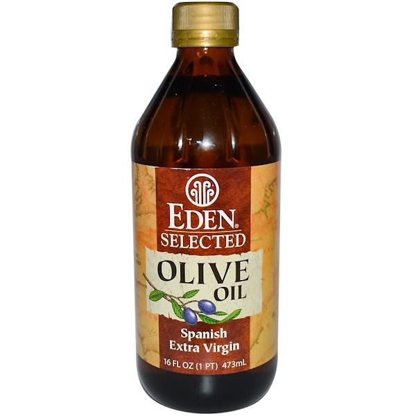 Eden Foods, Отборное испанское оливковое масло Extra Virgin, 16 жидких унций (473 мл) (Discontinued Item)