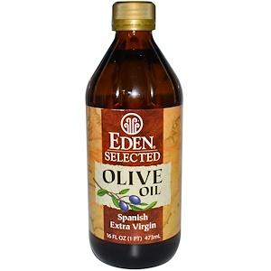 Эдэн Фудс, Selected, Spanish Extra Virgin, Olive Oil, 16 fl oz (473 ml) отзывы