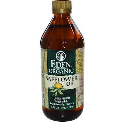 Купить Органическое сафлоровое масло, нерафинированное, 16 жидких унций (473 мл)