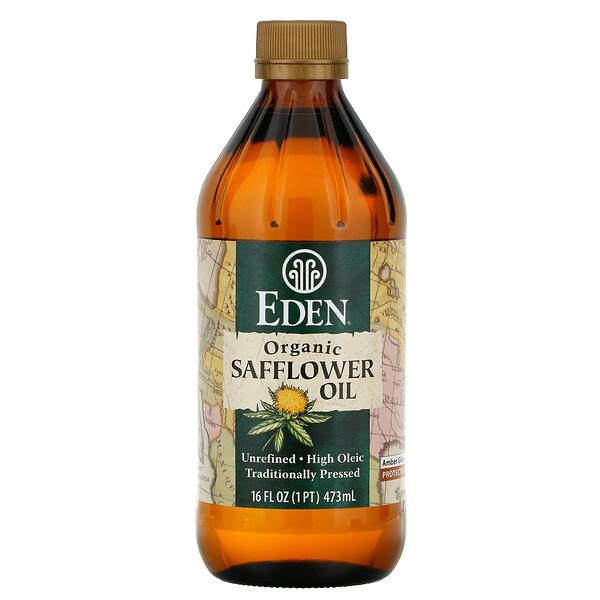유기농 홍화유, 비정제, 16 액량 온스 (473 ml)