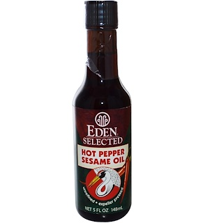 Eden Foods, Selected, Hot Pepper Sesame Oil, 5 fl oz (148 ml)