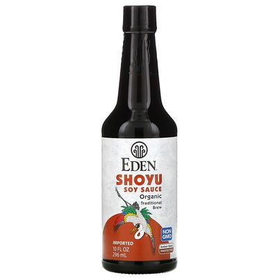 Eden Foods Organic, соевый соус Shoyu, 10 жидких унций (296 мл)