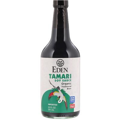 Eden Foods Органический соевый соус Тамари, 20 жидких унций (592 мл)