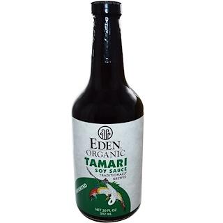 Eden Foods, オーガニック たまり醤油 , 20 液量オンス (592 ml)