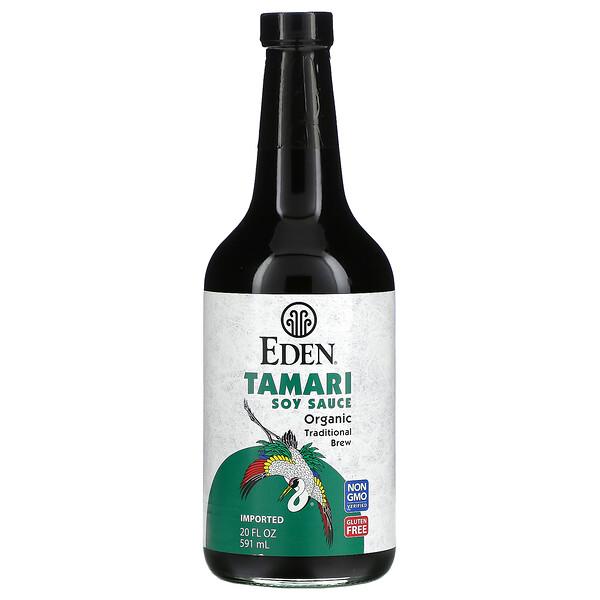 Eden Foods, органический соевый соус тамари, 591мл (20жидк. унций)