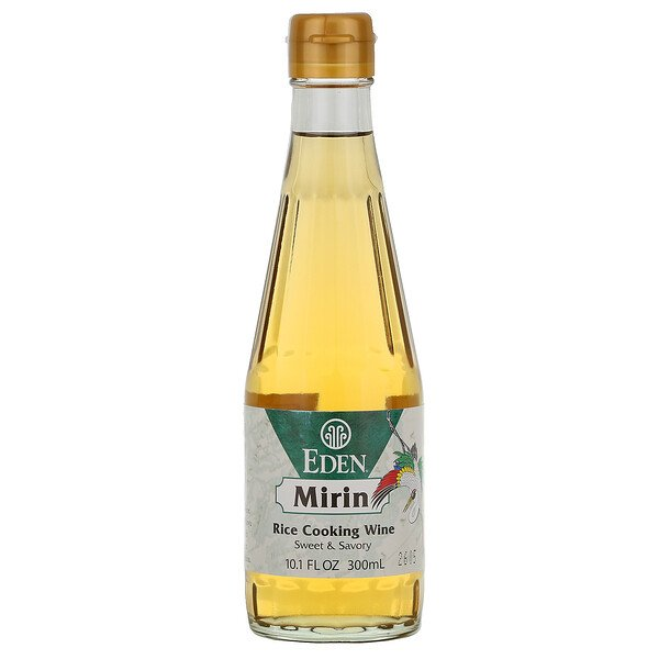 Eden Foods, Mirin, Rice Cooking Wine, 10.5 fl oz (300 ml)