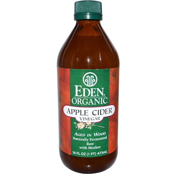 Eden Foods, Organic Apple Cider Vinegar, 16 fl oz (473 ml) (Discontinued Item)