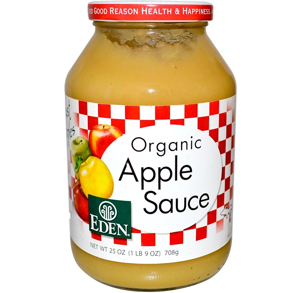 Eden Foods, Organic Apple Sauce, 25 oz (708 g) (Discontinued Item)