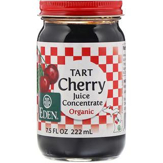 Eden Foods, オーガニック タルトチェリー果汁濃縮, 7.5 液量オンス (222 ml)