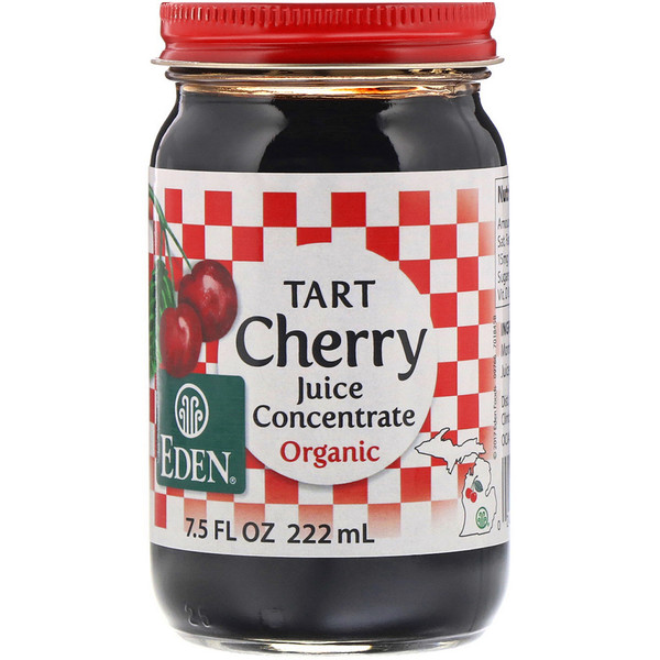 Organic Tart Cherry Juice Concentrate, 7.5 fl oz (222 ml)