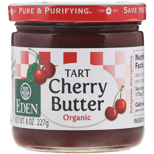 Eden Foods, Organic Tart Cherry Butter, 8 oz (227 g) (Discontinued Item)