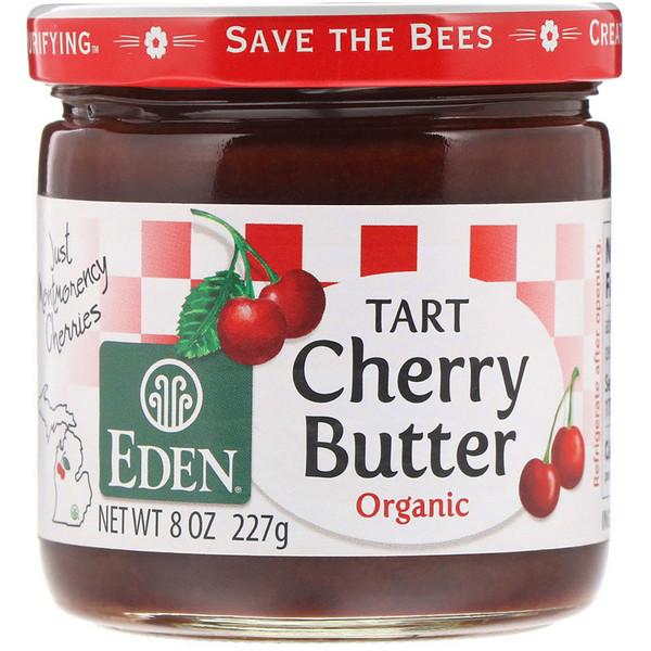 Eden Foods, Organic Tart Cherry Butter, 8 oz (227 g)