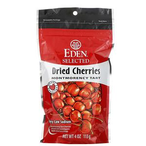 Эдэн Фудс, Selected, Dried Cherries Montmorency Tart, 4 oz (113 g) отзывы покупателей