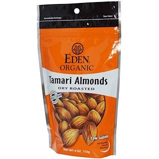 Eden Foods, オーガニックタマリアーモンド、 ドライロースト、 4 オンス (113 g)