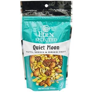 Эдэн Фудс, Selected, Quiet Moon, Nuts, Seeds & Dried Fruit, 4 oz (113 g) отзывы покупателей