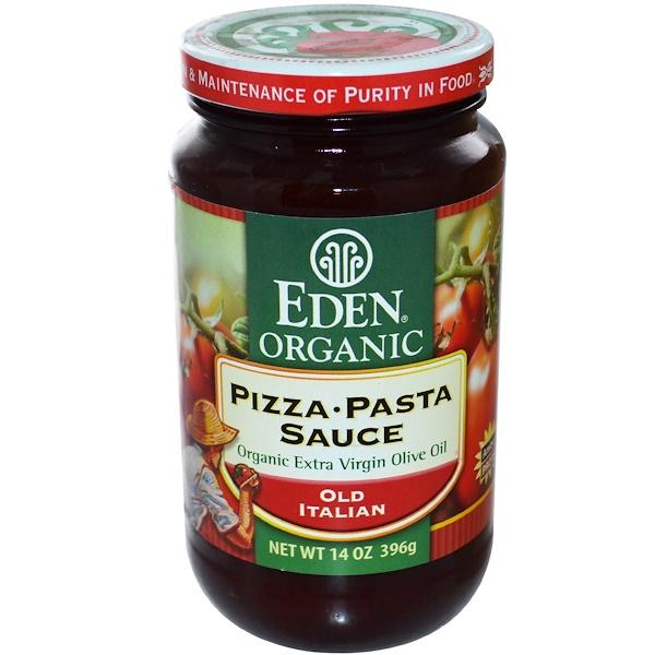 Eden Foods, Organic Pizza • Pasta Sauce, Old Italian, 14 oz (396 g) (Discontinued Item)