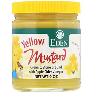 Эдэн Фудс, Yellow Mustard, 9 oz отзывы