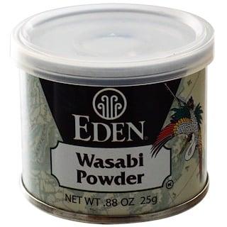 Eden Foods, わさびパウダー、.88 oz (25 g)
