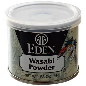 Эдэн Фудс, Wasabi Powder, .88 oz (25 g) отзывы