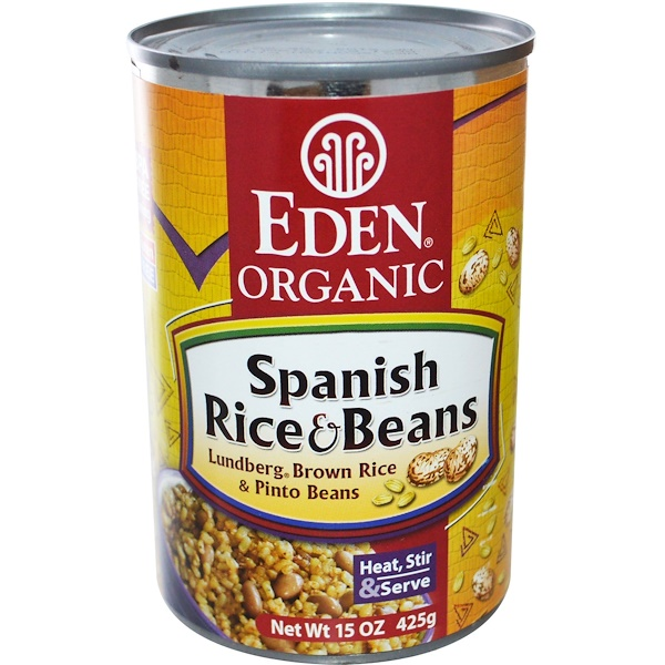 Eden Foods, Organic Spanish Rice & Beans, 15 oz (425 g) (Discontinued Item)