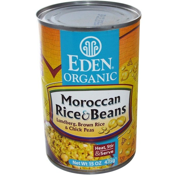 Eden Foods, Organic, Moroccan Rice & Beans, 15 oz (425 g) (Discontinued Item)
